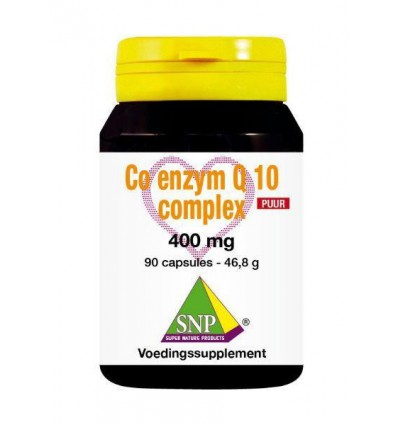 SNP Co enzym Q10 complex 400 mg puur 90 capsules | € 132.79 | Superfoodstore.nl