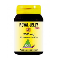 SNP Royal jelly 2000 mg puur 90 capsules | Superfoodstore.nl