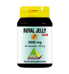SNP Royal jelly 2000 mg puur 60 capsules | Superfoodstore.nl