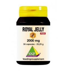 SNP Royal jelly 2000 mg puur 30 capsules | Superfoodstore.nl
