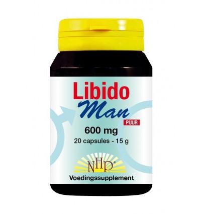 Ginseng NHP Libido man 600 mg puur 20 capsules kopen