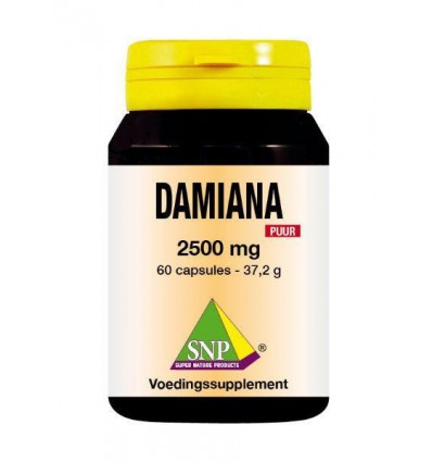 SNP Damiana extract 2500 mg puur 60 capsules | Superfoodstore.nl