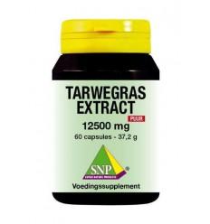 SNP Tarwegras extract 12500 mg puur 60 capsules |