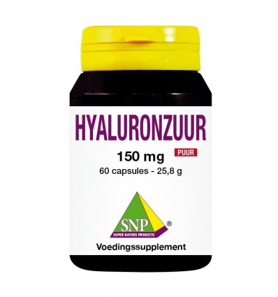 SNP Hyaluronzuur 150 mg puur 60 capsules | € 58.95 | Superfoodstore.nl