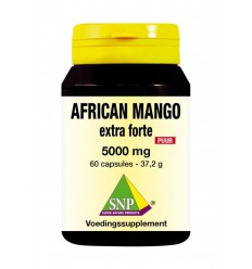 SNP African mango extract 5000 mg puur 60 capsules | € 25.26 | Superfoodstore.nl