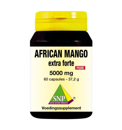 SNP African mango extract 5000 mg puur 60 capsules |