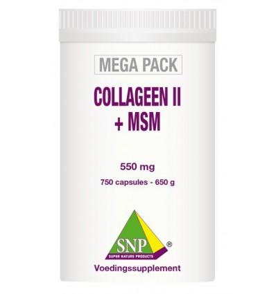 SNP Collageen II + MSM megapack 750 capsules | Superfoodstore.nl