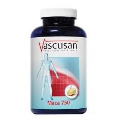 Vascusan Maca 750 120 capsules | Superfoodstore.nl