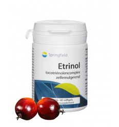Springfield Etrinol tocotrienolen complex 50 mg 60 softgels |