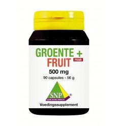 Voedingssupplementen SNP Groente & fruit 500 mg puur 90