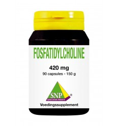 SNP Fosfatidylcholine 420 mg 90 capsules | € 34.09 | Superfoodstore.nl