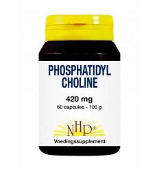 NHP Phosphatidyl choline 420 mg 60 capsules | Superfoodstore.nl