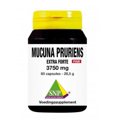 Voedingssupplementen SNP Mucuna pruriens extra forte 3750 mg