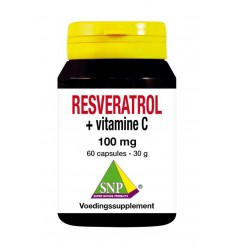 Resveratrol SNP Resveratrol + Vitamine C 100 mg puur 60 vcaps