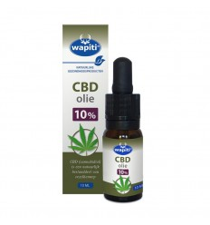 Wapiti CBD Olie 10% 10 ml | € 59.10 | Superfoodstore.nl
