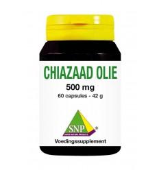 SNP Chiazaad olie 500 mg 60 capsules | Superfoodstore.nl
