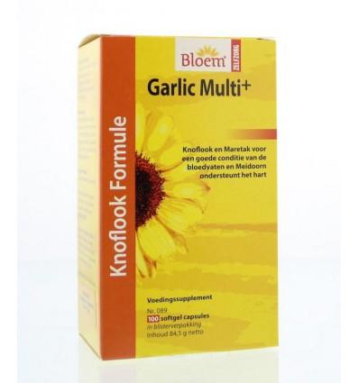 Bloem Garlic multi+ 100 capsules | € 15.25 | Superfoodstore.nl