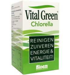 Bloem Chlorella vital green 1000 tabletten | € 48.98 | Superfoodstore.nl