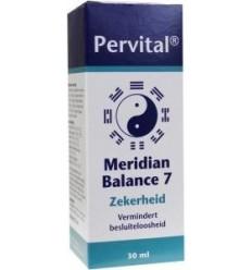 Pervital Meridian balance 7 zekerheid 30 ml | € 19.74 | Superfoodstore.nl