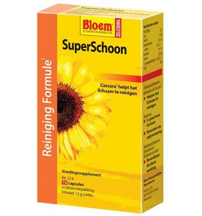 Supplementen Bloem Super schoon reinigingskuur 15 capsules kopen