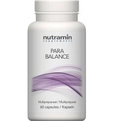 Nutramin Para balance 60 capsules | Superfoodstore.nl