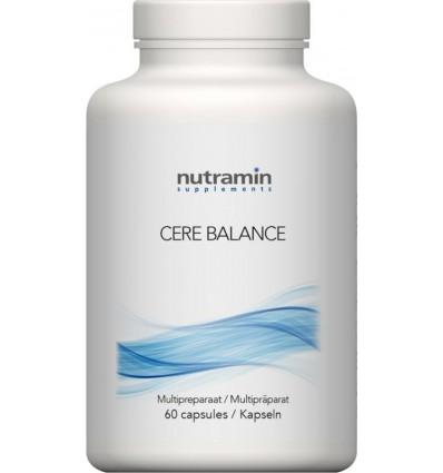 Nutramin Cerebalance 60 capsules | Superfoodstore.nl