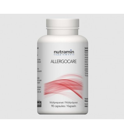 Nutramin NTM Allergocare 90 capsules | € 55.15 | Superfoodstore.nl