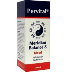 Pervital Meridian balance 8 moed 30 ml | Superfoodstore.nl