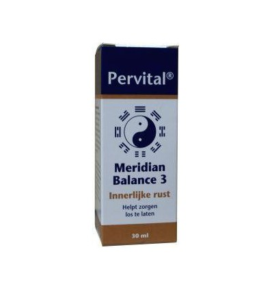 Pervital Meridian balance 3 innerlijke rust 30 ml | € 21.35 | Superfoodstore.nl