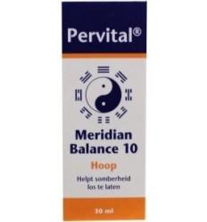 Pervital Meridian balance 10 hoop 30 ml | Superfoodstore.nl