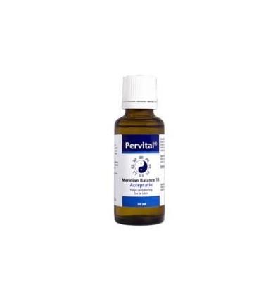 Homeopathie Pervital Meridian balance 11 acceptatie 30 ml kopen