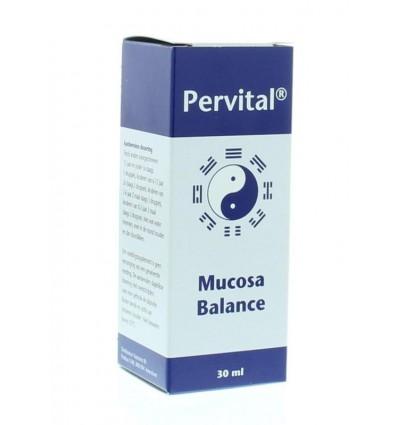 Homeopathie Pervital Mucosa balance 30 ml kopen