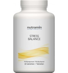 Nutramin Stress balance 60 tabletten | Superfoodstore.nl