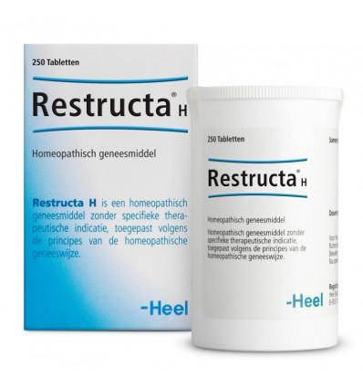 Homeopathie Heel Restructa H 250 tabletten kopen