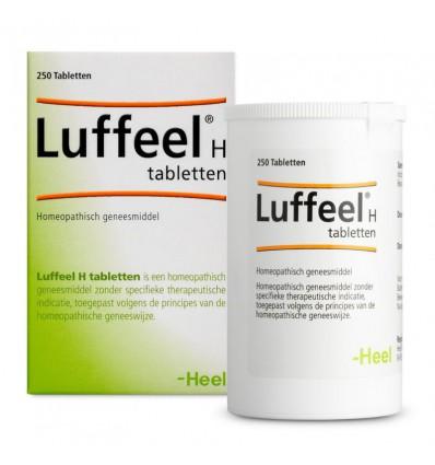 Homeopathie Heel Luffeel H 250 tabletten kopen