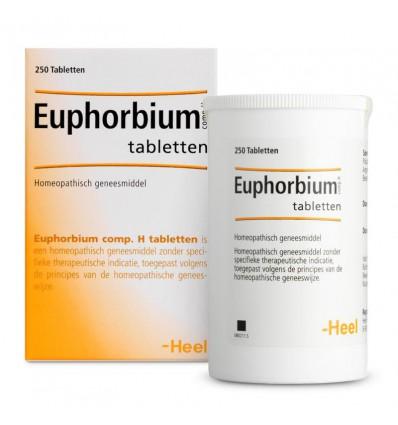 Homeopathie Heel Euphorbium compositum H 250 tabletten kopen