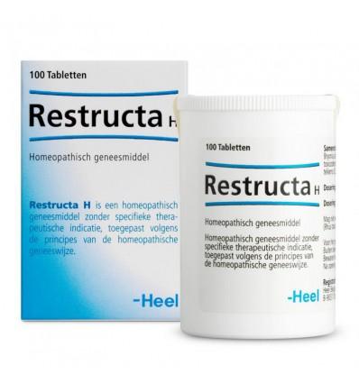Homeopathie Heel Restructa H 100 tabletten kopen