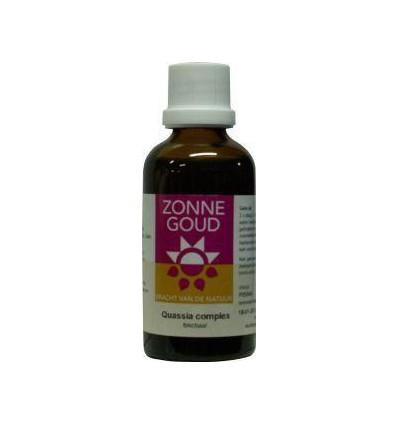 Zonnegoud Quassia complex 50 ml | Superfoodstore.nl