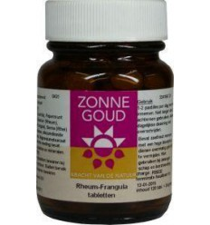 Zonnegoud Rheum frangula 120 tabletten | Superfoodstore.nl