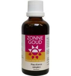 Fytotherapie Zonnegoud Pau d Arco simplex 50 ml kopen