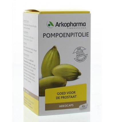 Arkocaps Pompoenpitolie 45 capsules kopen