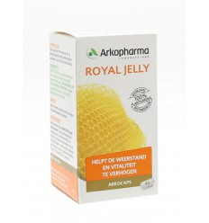 Arkocaps Royal jelly 45 capsules | Superfoodstore.nl