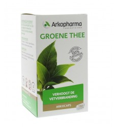 Arkocaps Groene thee 150 capsules | Superfoodstore.nl