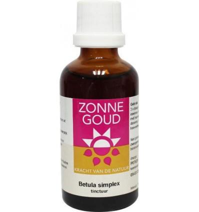 Zonnegoud Betula simplex 50 ml   Superfoodstore.nl