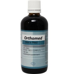 Orthomed Disca med complex 100 ml | € 15.04 | Superfoodstore.nl