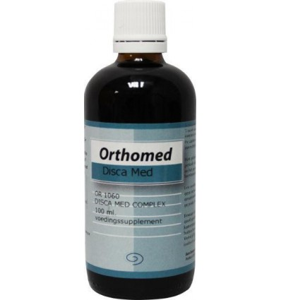 Orthomed Disca med complex 100 ml | Superfoodstore.nl