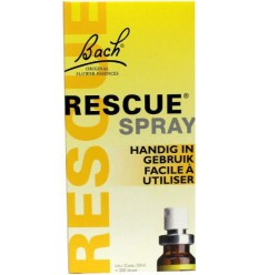 Bach Rescue remedy spray 20 ml | Superfoodstore.nl