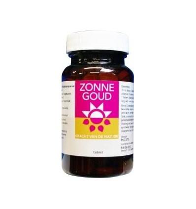 Zonnegoud Euphrasia complex 120 tabletten   Superfoodstore.nl