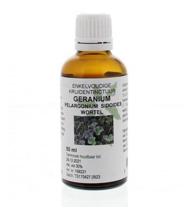 Natura Sanat Pelargonium / geraniumwortel tinctuur 50 ml | € 6.87 | Superfoodstore.nl