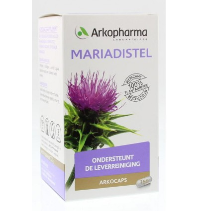 Arkocaps Mariadistel 150 capsules | Superfoodstore.nl